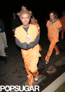Julianne-Hough-dressed-up-Crazy-Eyes-from-Orange-New-Black