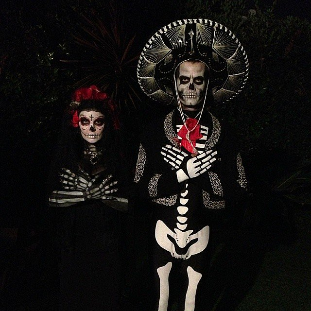 day of the dead couple - photo #25