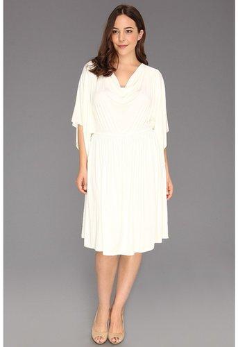Rachel Pally Plus - Plus Size Eberez Dress (White) - Apparel