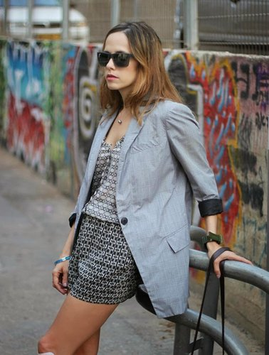 light blazer