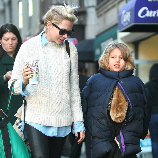 Michelle Williams and Matilda Ledger on Her Birthday