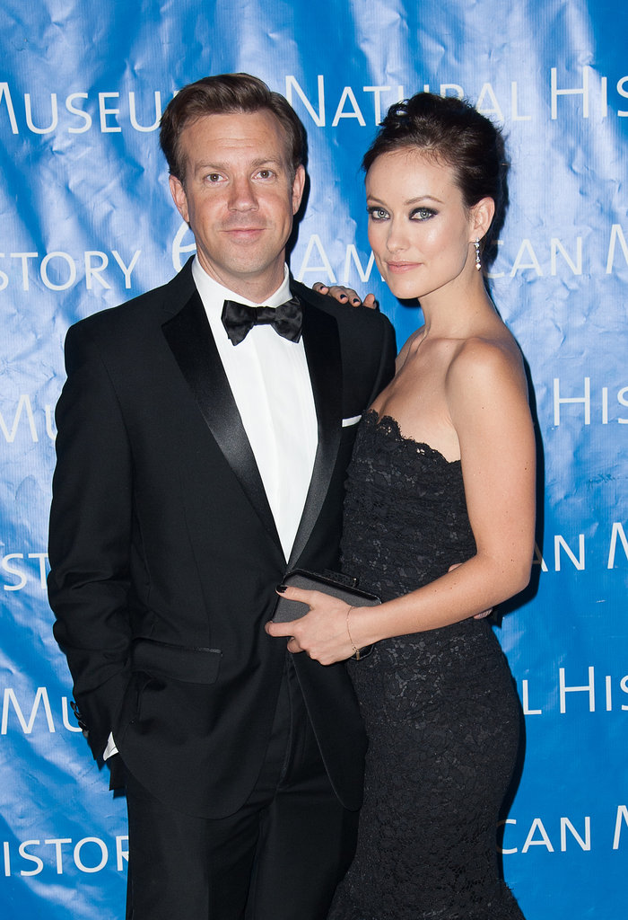 Olivia Wilde and Jason Sudeikis were suited up in matching black looks for the November 2012 Museum of Natural History Gala in NYC.