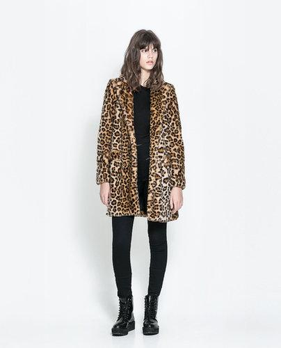 Leopard Furry Coat