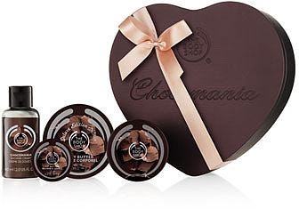 Chocomania Deluxe Shower, Scrub & Moisture Set