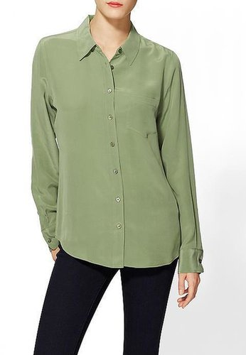 Equipment Brett Silk Blouse