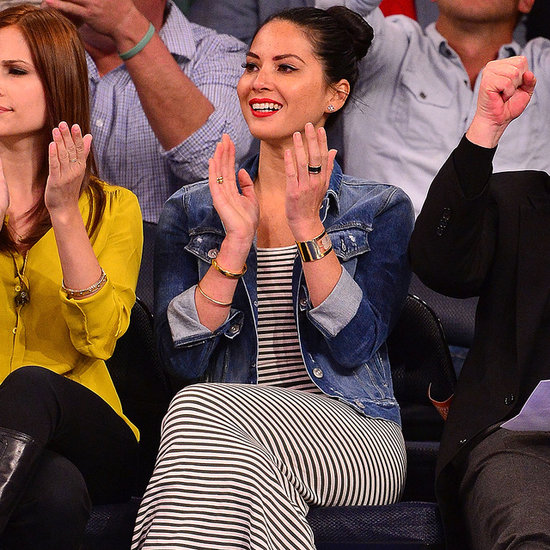 Olivia Munn Shows Off Slam Dunk Courtside Style