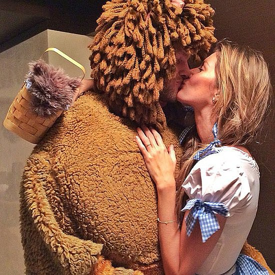 Tom Brady and Gisele Bündchen made for a storybook couple in their adorable costumes.  Source: Instagram user giseleofficial