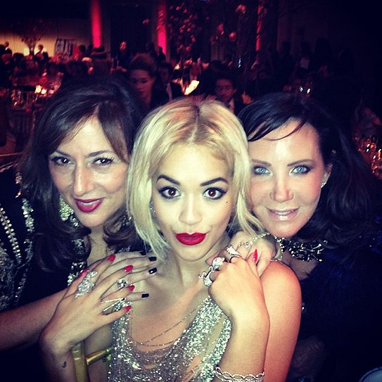 If diamonds are a girl's best friend, then Rita Ora's pretty popular. Source: Instagram user ritaora