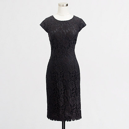 Factory floral lace sheath