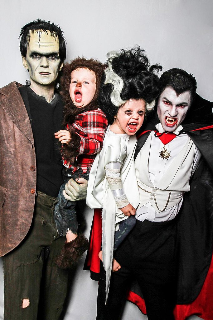 Neil Patrick Harris and David Burtka as Frankenstein and Dracula