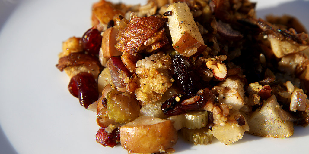 Thanksgiving Gone Wild! Cranberry-Pear Wild Rice Stuffing
