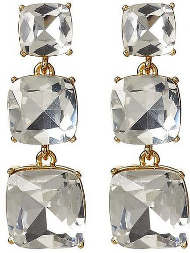 Kate Spade New York Shaken And Stirred Graduated Linear Earring