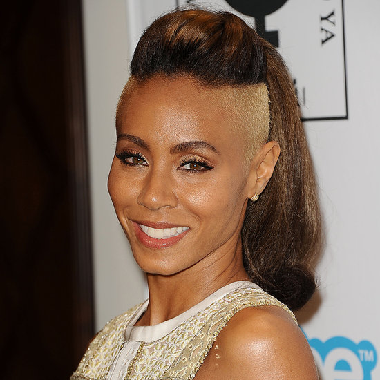 Jada Pinkett Smith With a Shaved Head