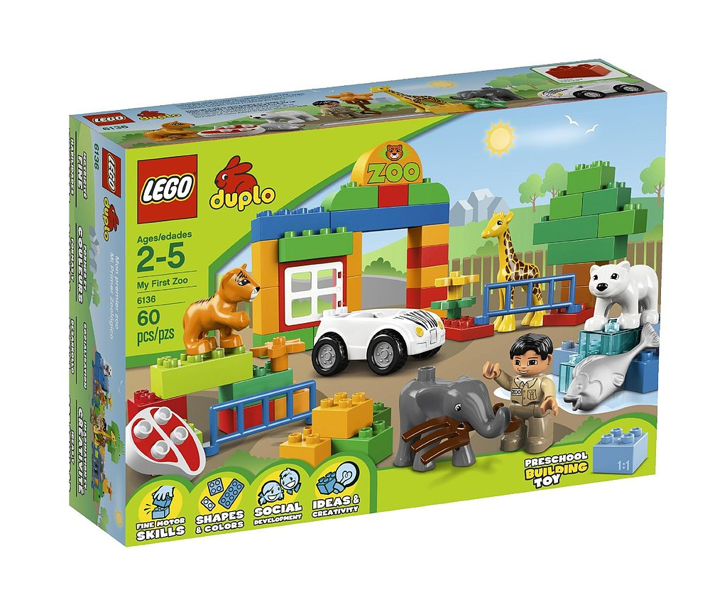 For 2-Year-Olds: Lego Duplo My First Zoo