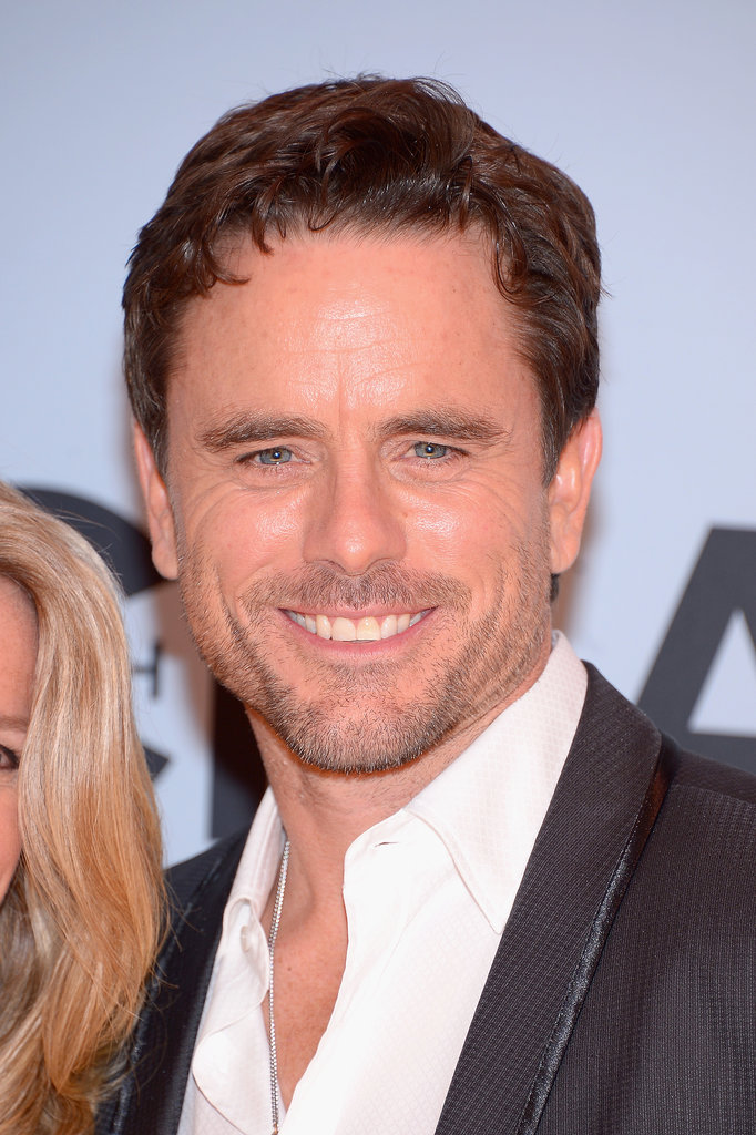 Nashville actor Charles Esten was all smiles at the CMAs on Wednesday night.