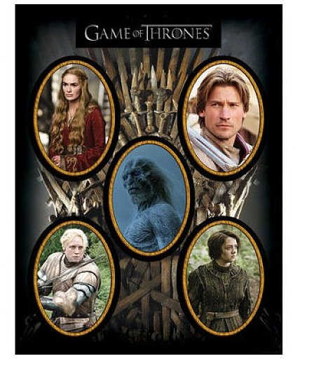 Game of Thrones Magnet Set ($9)
