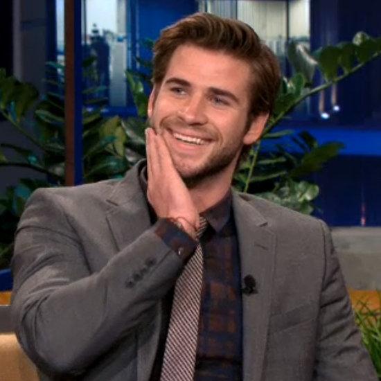 Video: Liam Hemsworth Talks Jennifer Lawrence On Jay Leno
