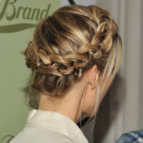 Celebrity Crown Braids 2013