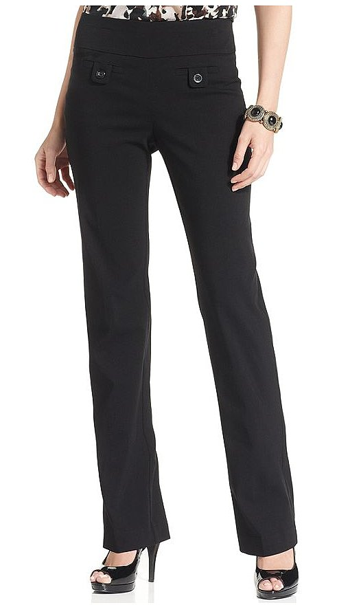 Style&Co. straight-leg trousers ($28) have a set of front pockets that set them apart from the usual office pants.