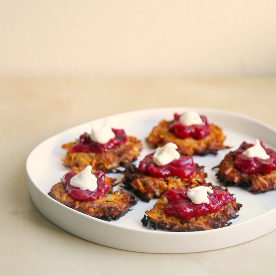 Sweet Potato Latkes Recipe