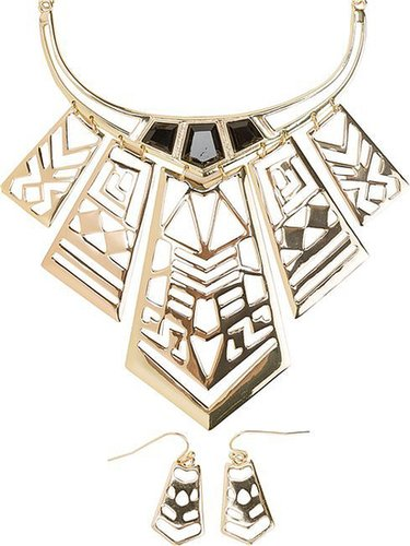 Savannah Statement Necklace And Earring Set