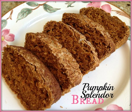 Pumpkin Splendor Bread