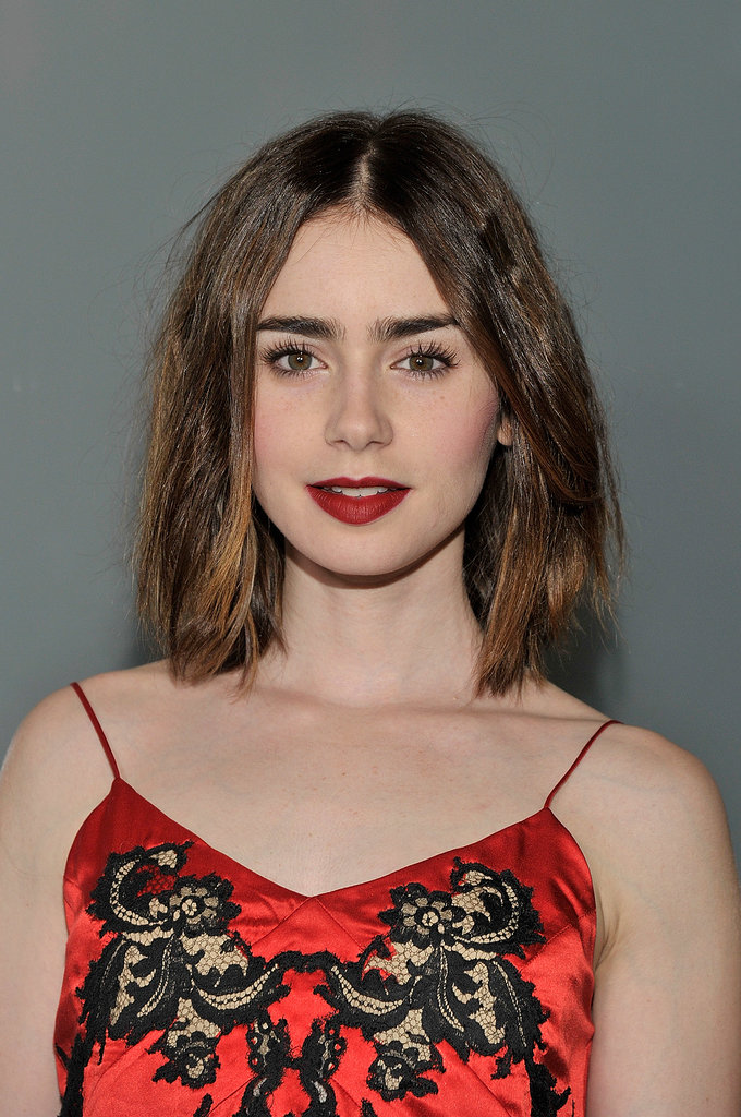 Lily Collins stepped out for the Flaunt issue launch party.