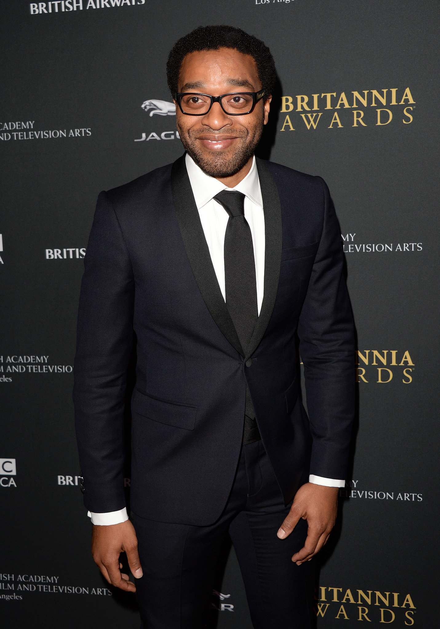 Chiwetel Ejiofor attended the BAFTA LA Jaguar Britannia Awards.