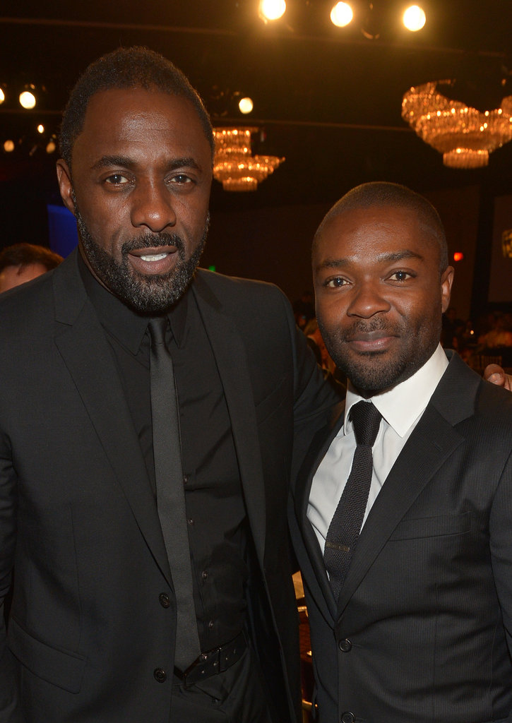 Photo of Idris Elba & his friend actor  David Oyelowo -