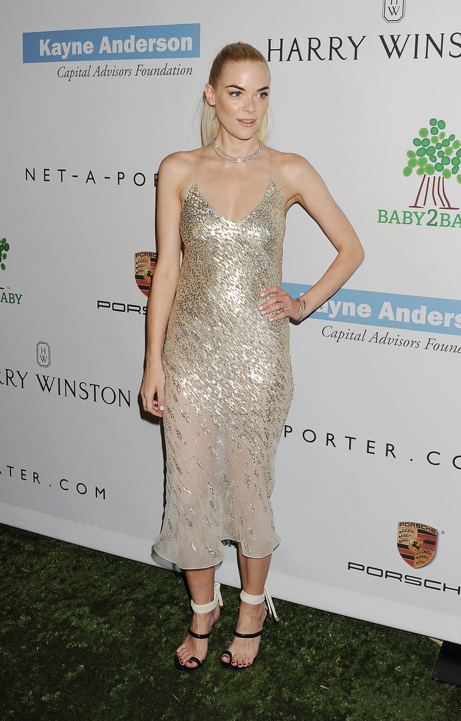 New mom Jaime King stepped out for the Baby2Baby Gala in LA.