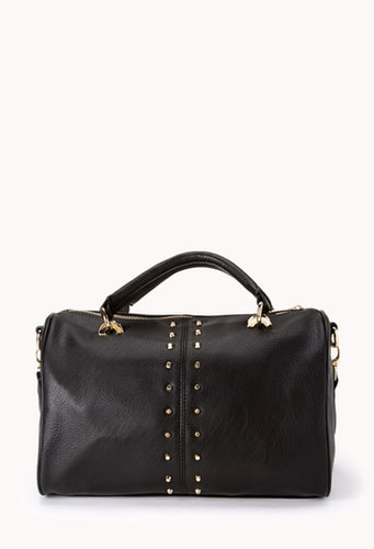FOREVER 21 Total Stud Boston Bag