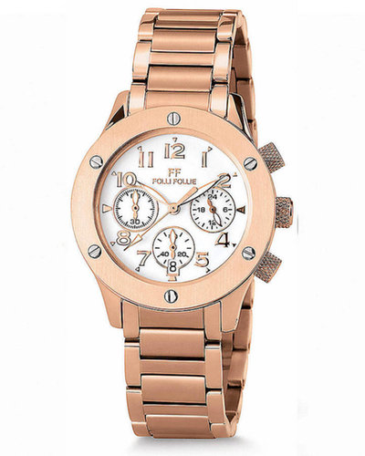 FOLLI FOLLIE FOLLI FOLLIE Ladies' Ace Rose Gold Watch