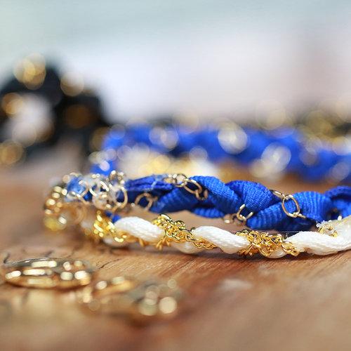 Ribbon Chain Bracelet