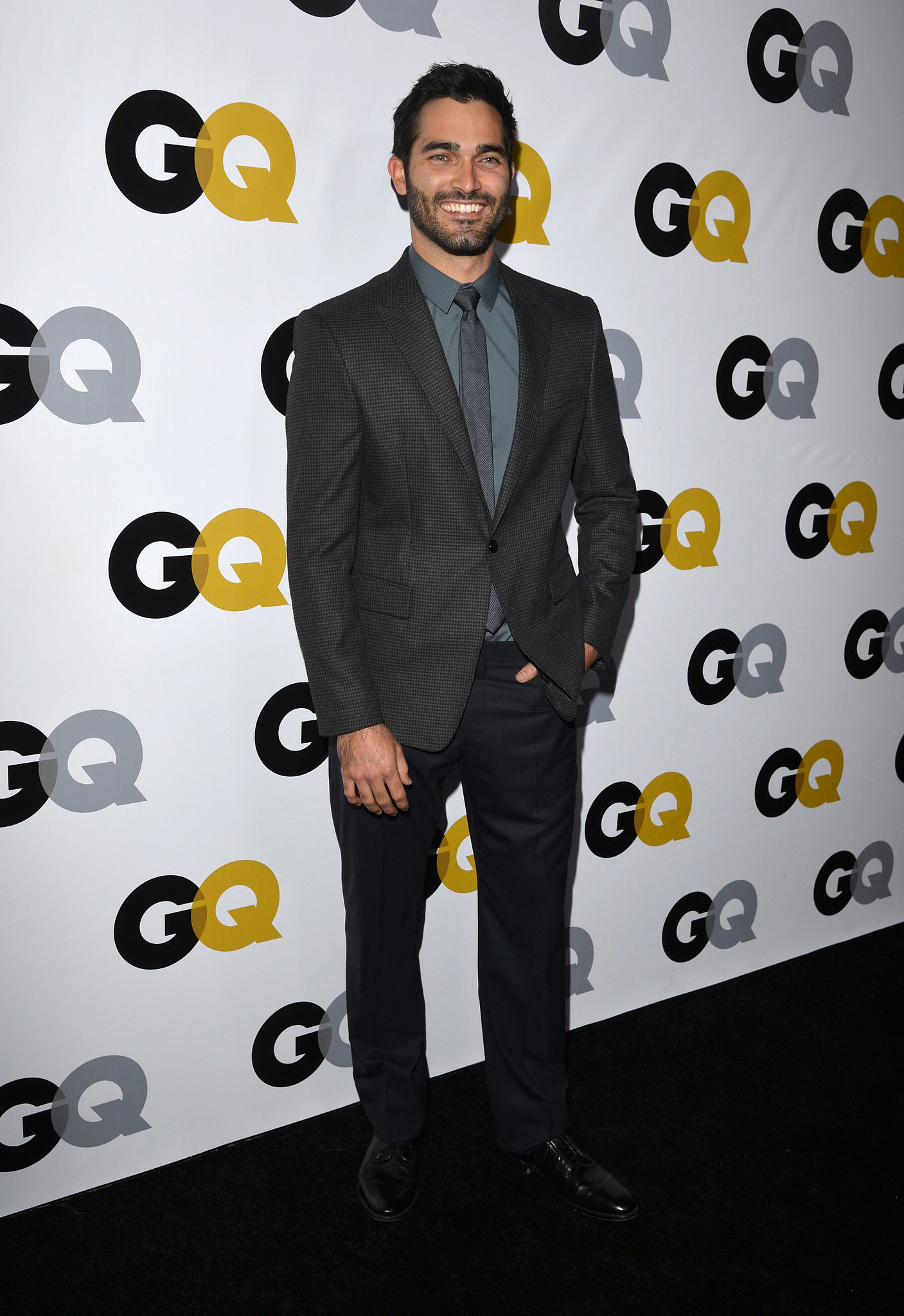 Tyler Hoechlin attended the GQ Men of the Year party.