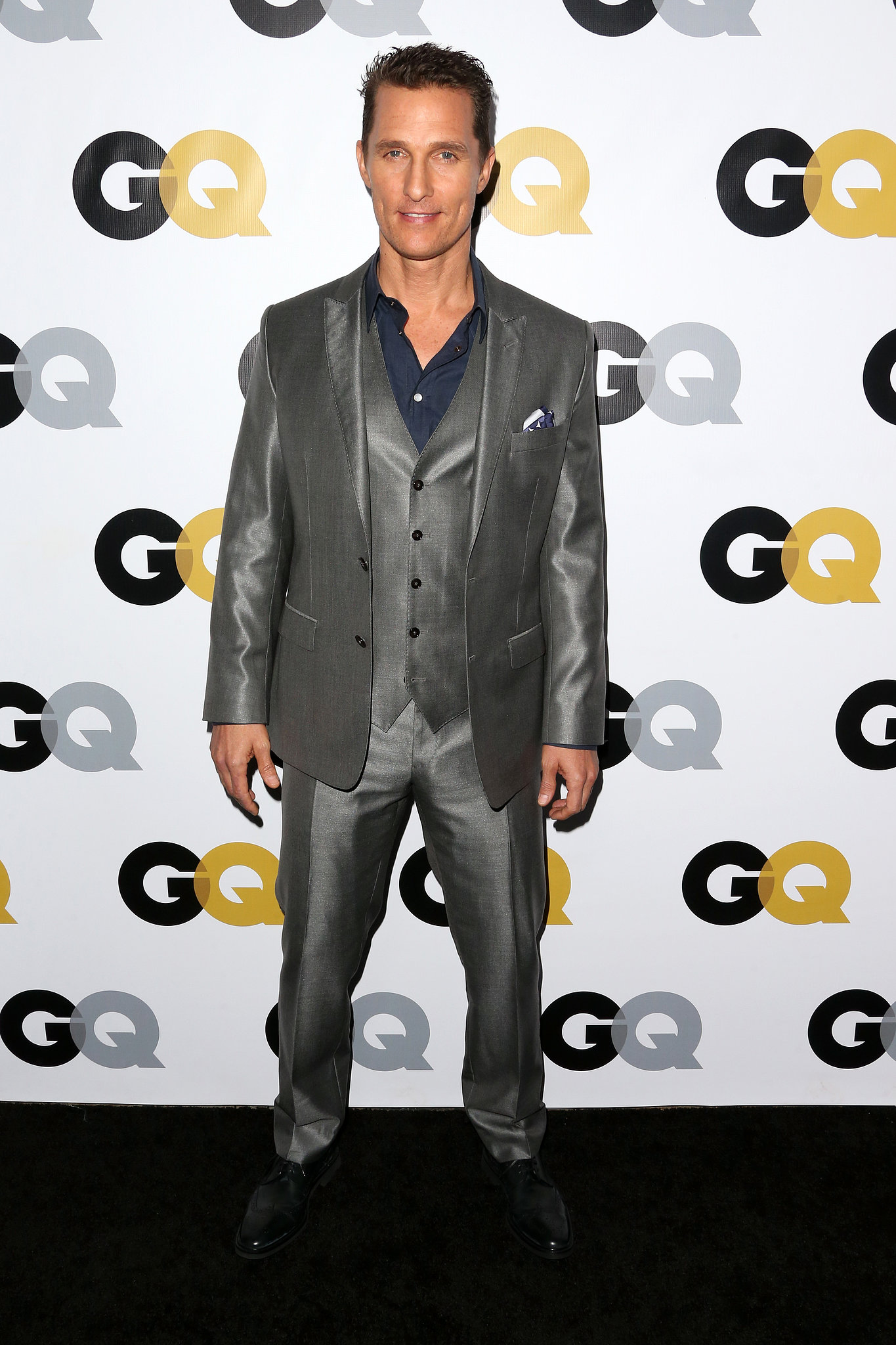 Matthew McConaughey attended the GQ Men of the Year party in LA.