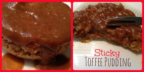 Gluten Free Sticky Toffee Pudding