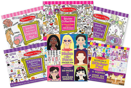 Melissa and Doug Kids Toys, Fashion Sticker Collection