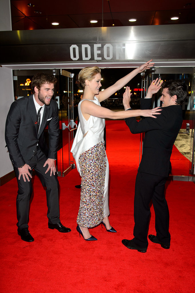 It's a Hunger Games Tickle Fight!
