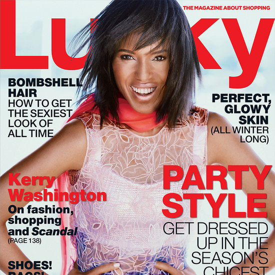 Kerry Washington Interview For Lucky December 2013