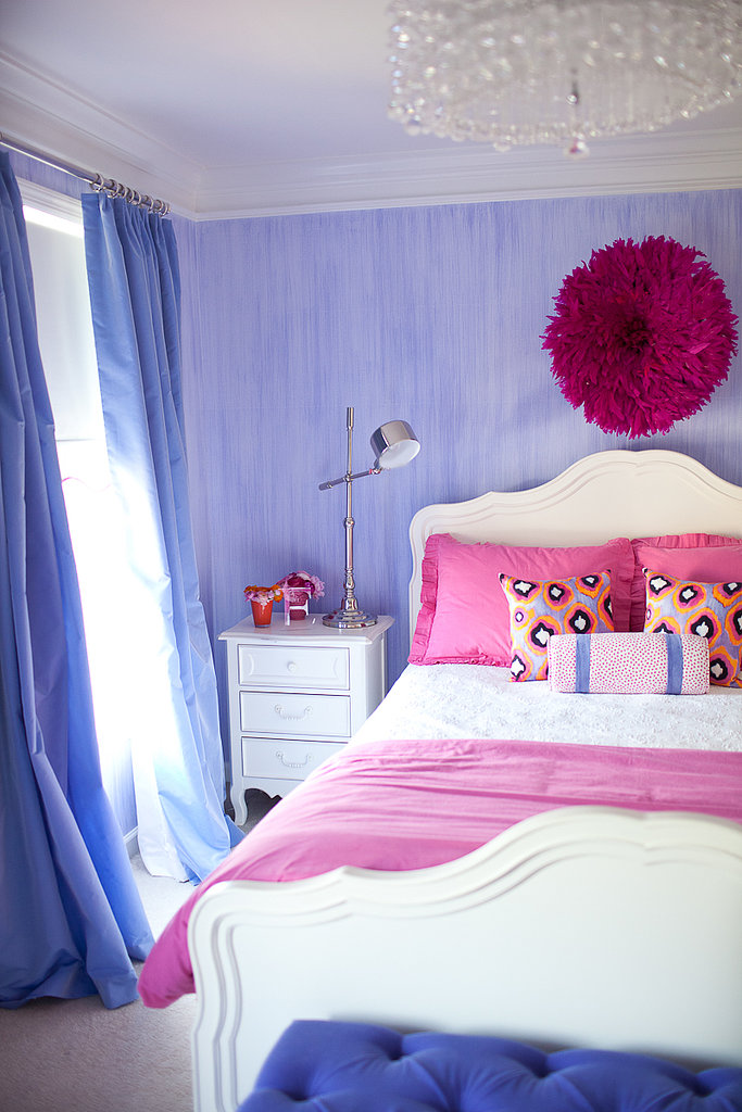 Pretty and Stylish Pink and Purple Big Girl s Room