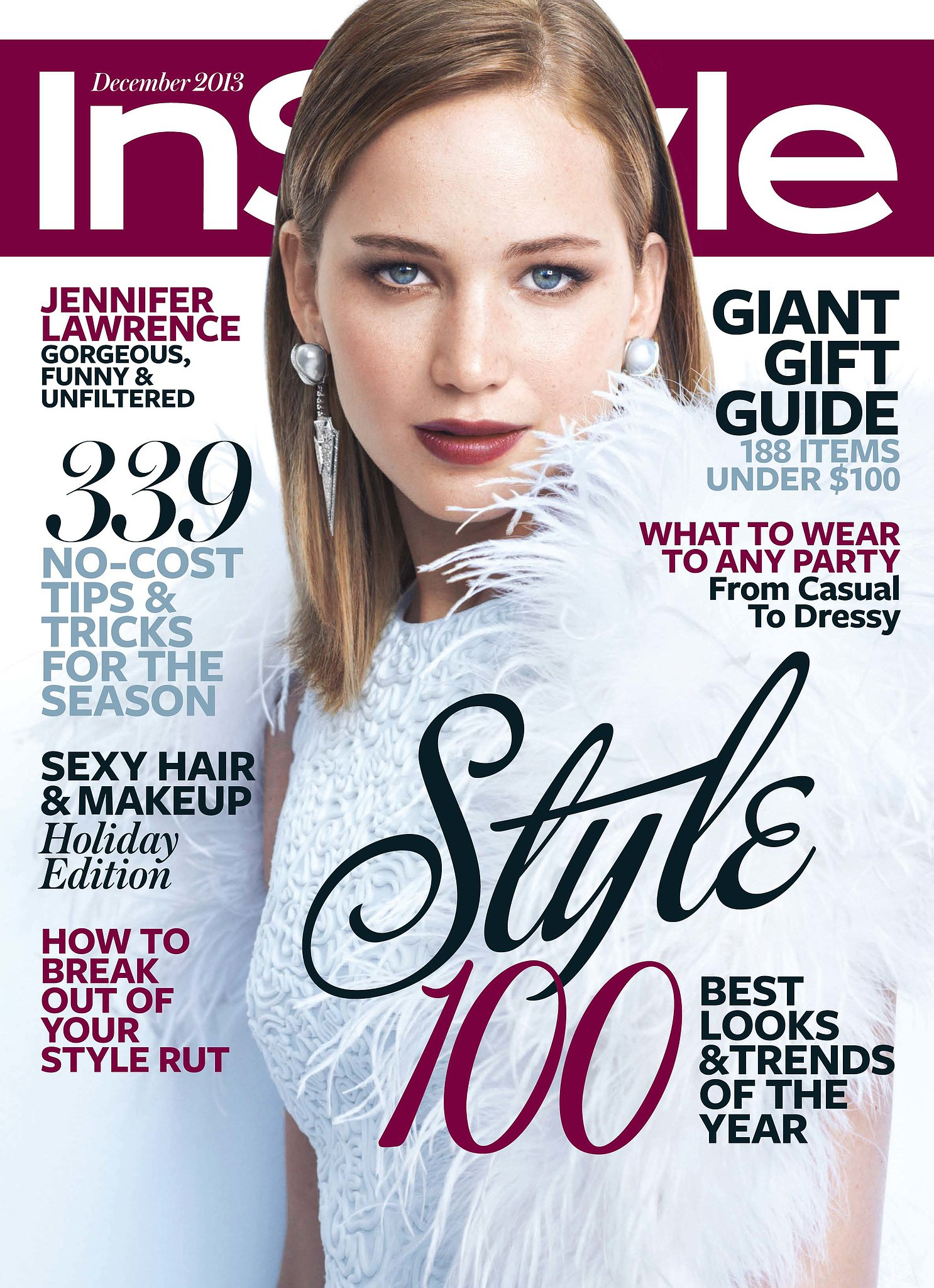 InStyle December 2013