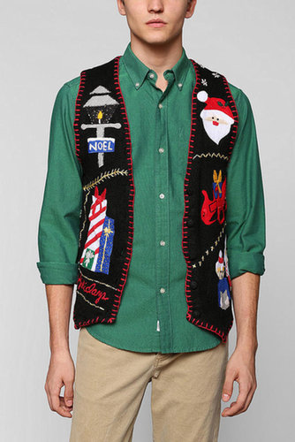 Urban Renewal Vintage Ugly Christmas Sweater Vest