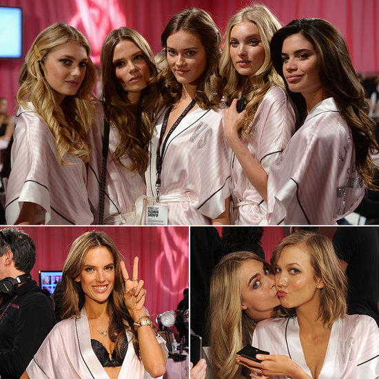 The VS Angels Bring Sexy Backstage