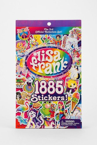 Lisa Frank Sticker Book ($8)