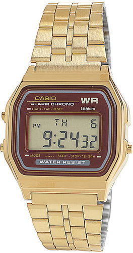 Casio Digital Wristwatch A159WGEA-5