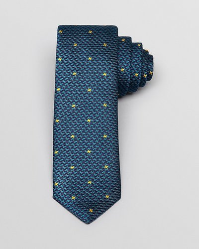 Thomas Pink Rochester Woven Skinny Tie