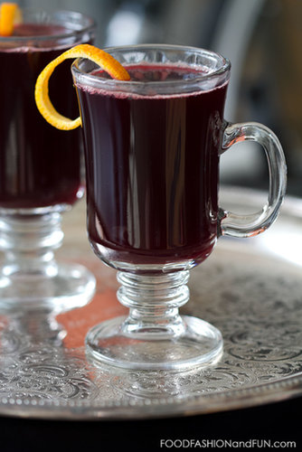 Bottoms Up | Mulled Cranberry Juice