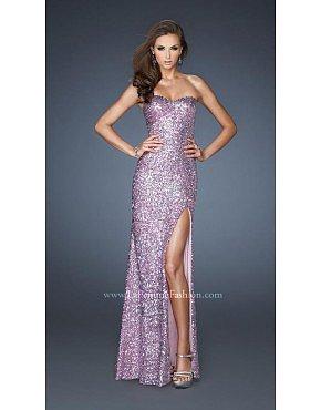 La Femme Prom Dresses 18840 Pink