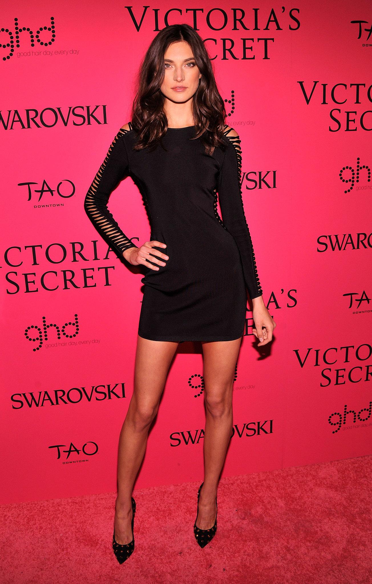 Jacquelyn Jablonski at the Victoria's Secret Fashion Show.