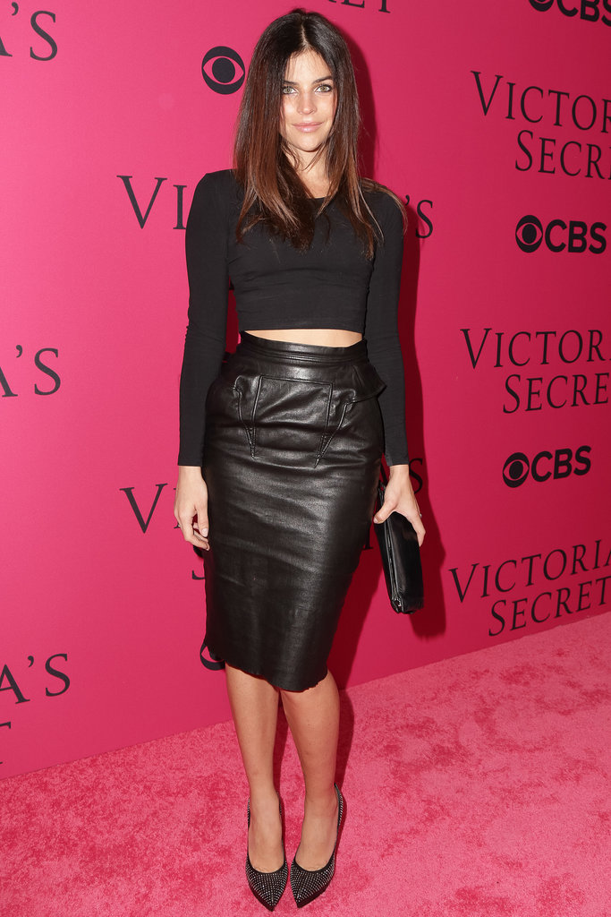 Julia Restoin Roitfeld at the Victoria's Secret Fashion Show.